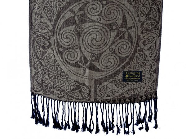 Irish pashmina scarf - Inishmore